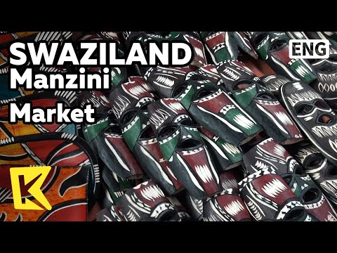 【K】Swaziland Travel-Manzini[스와질란드 여행-만지니]채소, 과일, 공예품 시장/Market/Vegetable/Fruit/Craft/Accessory