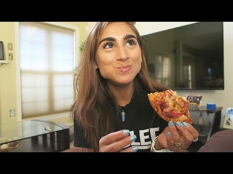 TRYING SUBWAY'S PIZZA!! OMG WHAAAT?!