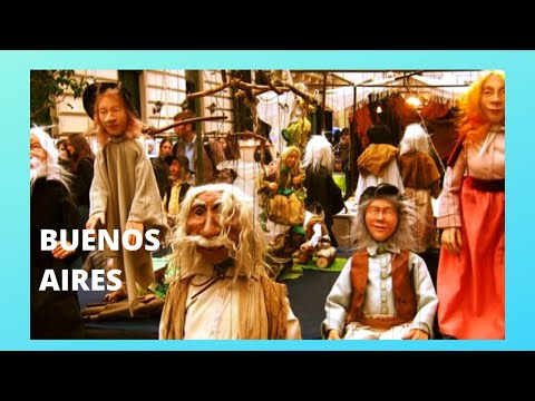 BUENOS AIRES: The beautiful ANTIQUES MARKET of SAN TELMO (Argentina)