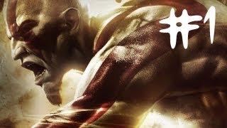 God of War Ascension Gameplay Walkthrough Part 1 - The Hecatonchires - Chapter 1 (GOW PS3 HD)