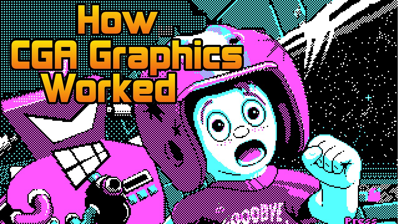 Download CGA Graphics - Not as bad as you thought!