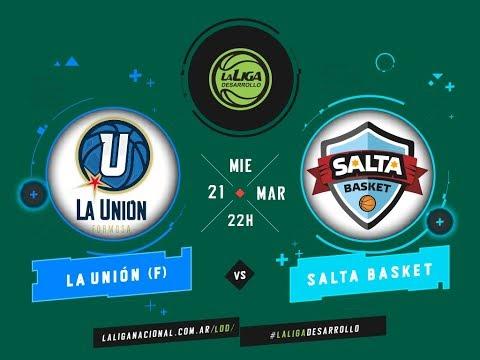 #LaLigadeDesarrollo   21.03.2018 La Unión de Formosa vs. Salta Basket