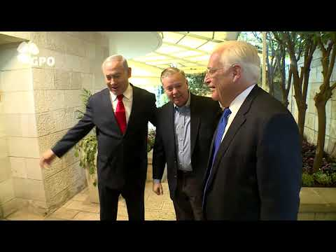 PM Netanyahu Hosts US Senator Lindsey Graham