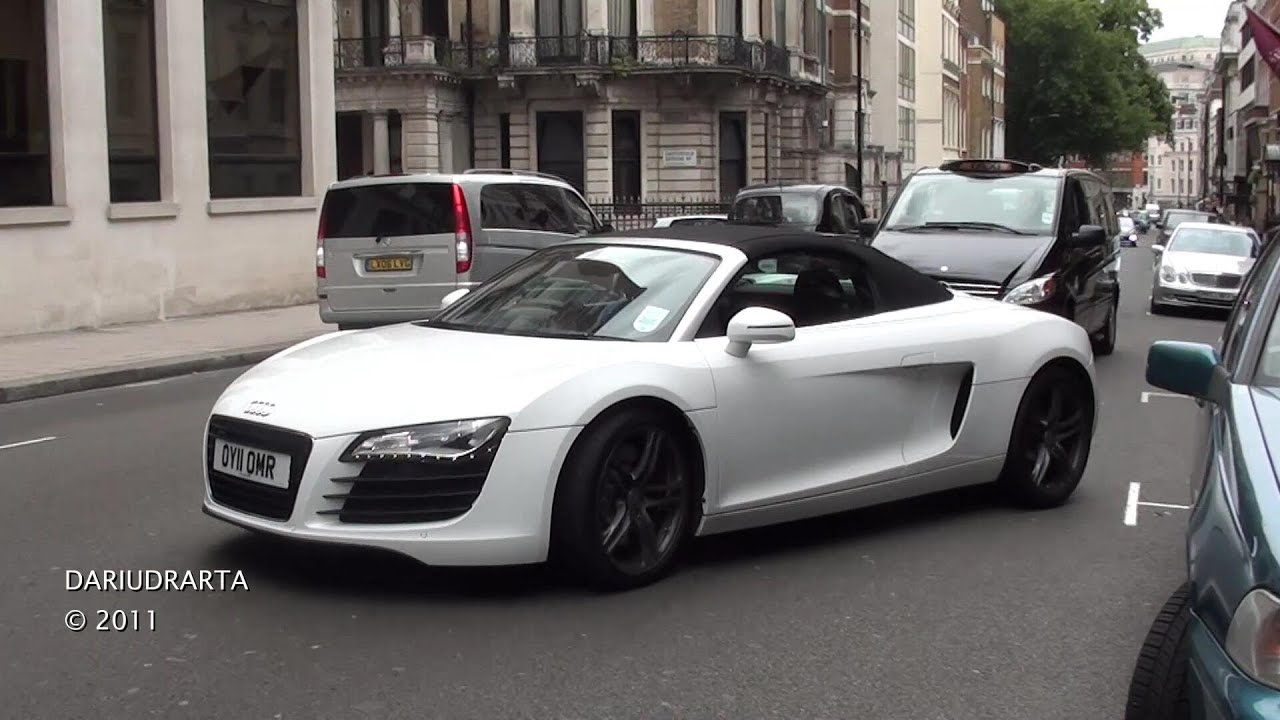 2011 Audi R8 V8 Spyder - Lovely Sound - YouTube