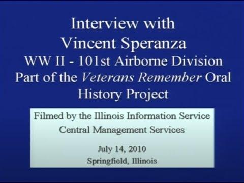 Vince Speranza Veterans Remember WWII Session 1
