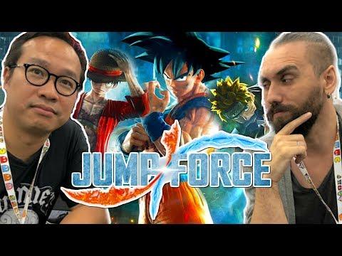 JUMP FORCE, rassurant ou décevant ? (Dragon Ball, Bleach, Naruto, One Piece, Yu Gi Oh...)