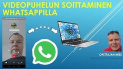 Kuinka soitan videopuhelun helposti Whatsappilla?