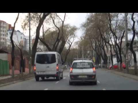 Driving around Moldova