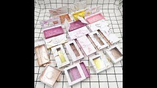50 100 шт новый стиль ресниц упаковка картонная коробка мраморная серия пара коробок для ресниц