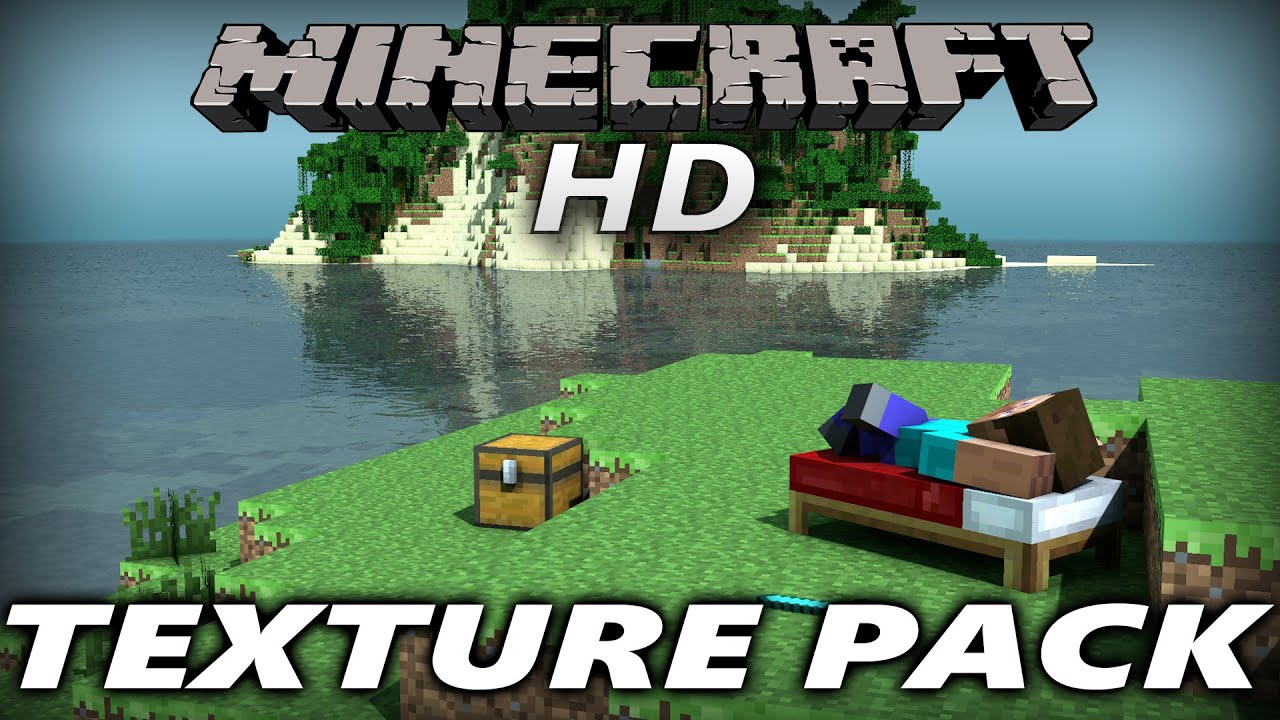 Minecraft HD Texture Pack - YouTube