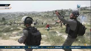الاحتلال يعتدي على طاقم الغد ويقمع مسيرة فلسطينية في بيت لحم بمناسبة ذكرى النكبة
