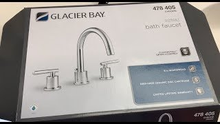How To Install A Glacier Bay 3 Piece Bathroom Faucet Youtube