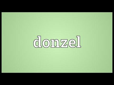 Header of donzel