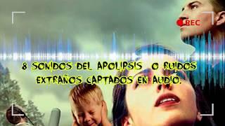 8 SONIDOS DE TROMPETAS EN EL CIELO CAPTADAS EN AUDIO