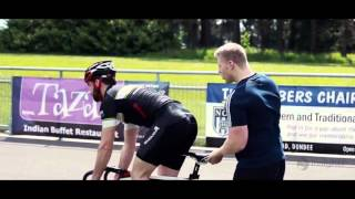 Scottish Cycling team Training with Insights Discovery