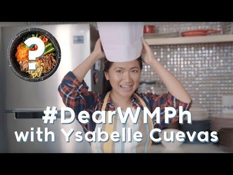 Ysabelle Cuevas cooks for her fans! | #DearWMPh