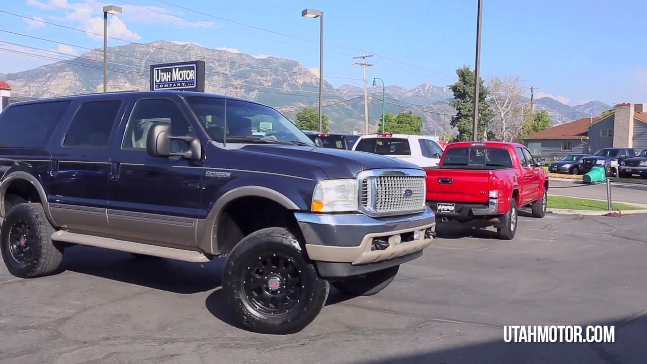 2002 ford excursion limited 7 3l power stroke diesel utah motor companyllc 801899 4992