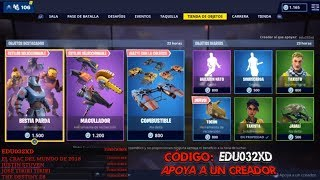 🔴DIRECT🔴 NEW SKIN!! BEAST PARDA!! FORTNITE'S STORE ? Code Edu032xD