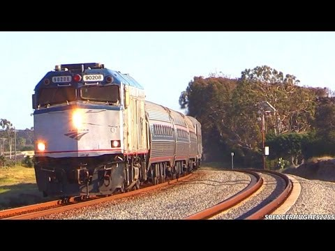 Thumbnail: Trains in Oceanside, CA (February 8th, 2014)