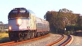 Trains in Oceanside, CA (February 8th, 2014)