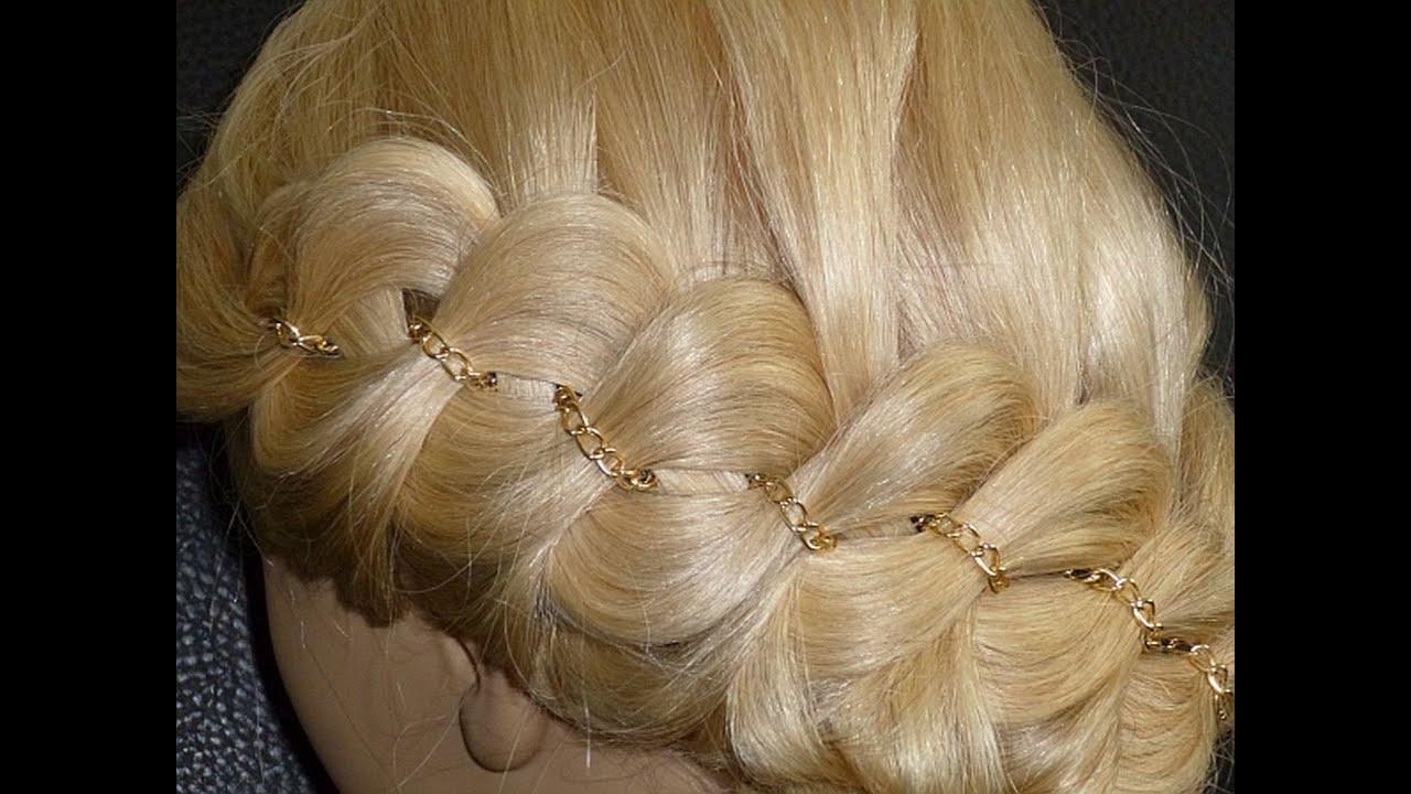 Прически на длинные волосы 506