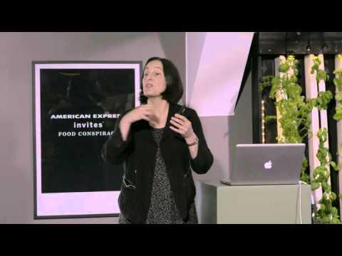 Amex Food Conspiracy - Talk av Julie Gold på Fotografiska