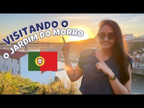 #VLOG01 - CONHEÇA O JARDIM DO MORRO EM VILA NOVA DE GAIA - PORTUGAL | MYLENA MOURA