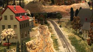 O Scale Train Action at The Old Town Model Railroad Depot, San Diego