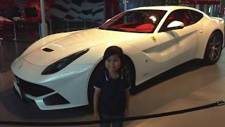 Ferrari World Abu Dhabi | Adam and Family in Yas Island| fun Time | Turbo Track | Karting Academy