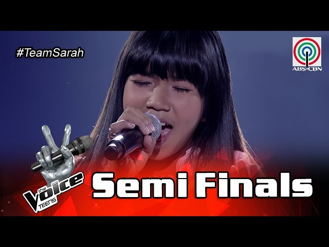 The Voice Teens Philippines  Semifinals: Jona Soquite - Greatest Love Of All