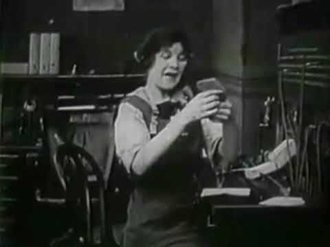 Mae Marsh   The Telephone Girl and the Lady   1913