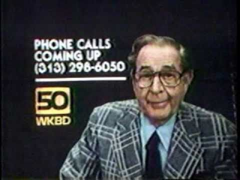 WKBD Detroit 1980: Bill Kennedy At The Movies