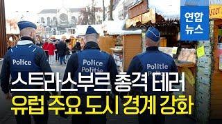 유럽, 스트라스부르 총격 사건 계기 크리스마스 시장 경계 강화 / 연합뉴스 (Yonhapnews)