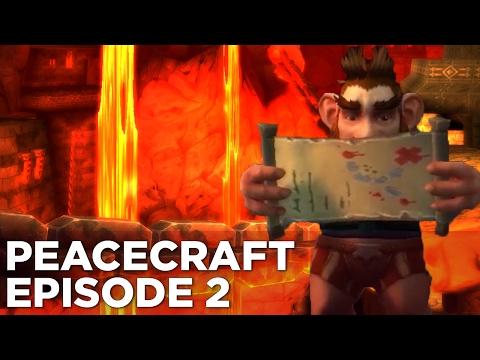 Raandyy Journeys Through the FIRES OF HELL - PeaceCraft Ep. 2