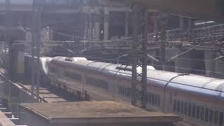 山形新幹線 つばさ137号 新庄行き E3系と東北新幹線 やまびこ137号 仙台行き E2系  2019.11.04