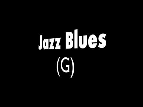 ♫ Jazz Blues Backing Track - G Major ♫