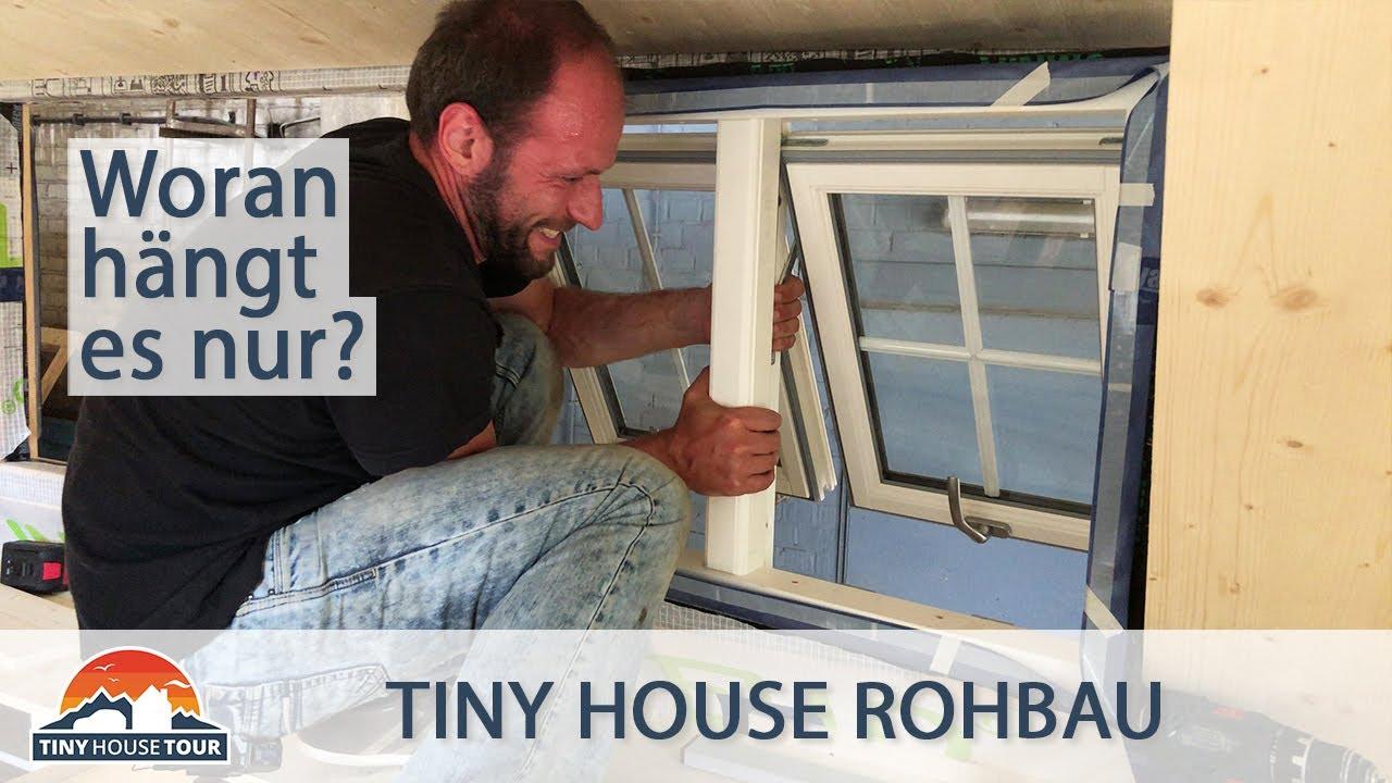 Alle Fenster an ihrem Platz? - Fenster-Einbau mit Hindernissen - Teil 2 | TINY HOUSE TOUR