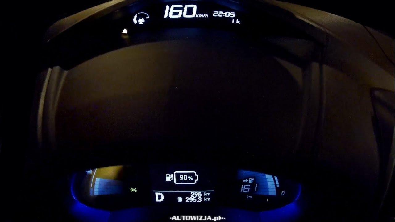 Nissan Leaf acceleration 0-100 km/h, 0-160 km/h, 0-400 m, top speed ...