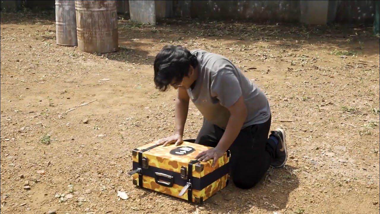 Bape Box Unboxing | MortaL VS Abish Mathew | (PaintBall Challenge)