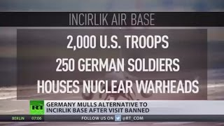 Germany will look for alternatives to Turkey's Incirlik Airbase   Merkel
