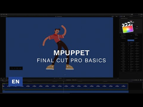 Using mPuppet in Final Cut Pro X - Tutorial - mPuppet FCPX and Apple Motion Plugin - MotionVFX thumbnail