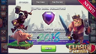 TH10 vs TH11 LEGEND LEAGUE ATTACKS!  TH10 TROPHY PUSHING STRATEGY 2018 | CLASH OF CLANS |