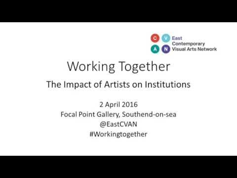Working Together: The Impact of Artists on Institutions (selected highlights)