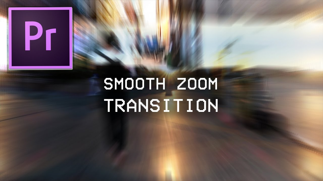 Action Blur Distortion Transitions for Premiere