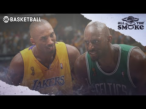 Kevin Garnett talks about his potential trade destinations in 2007, including the Lakers to team up with Kobe.