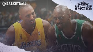 Kevin Garnett Wanted To Team Up w/ Kobe Before Going To The Celtics | ALL THE SMOKE