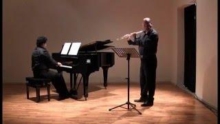 Richard Rodney Bennett  Summer Music for flute and piano / A. Ragno flute