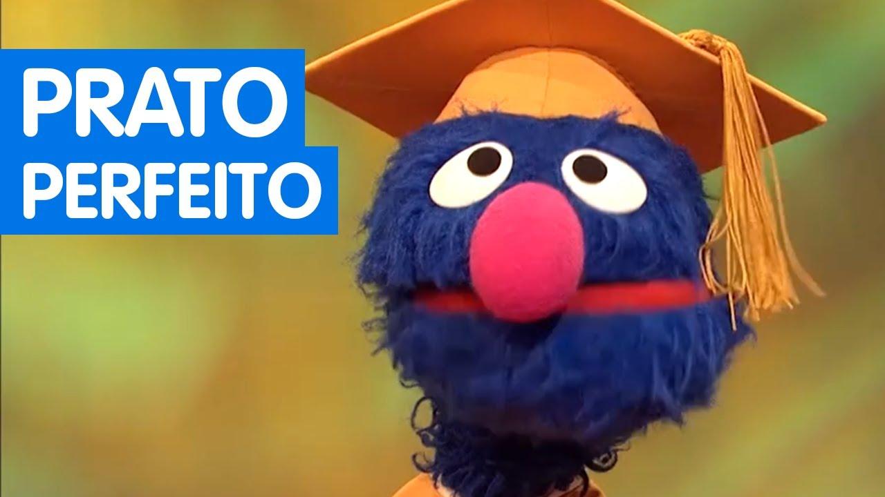 Sésamo: Vamos Brincar | Professor Grover explica o Prato Perfeito