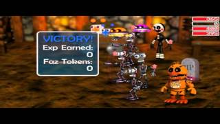 Fnaf World: Find Character Chip
