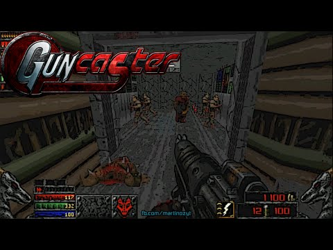 Guncaster & Maps Of Chaos with Doom II Hell On Earth, Levels 1-6 [720p 60fps]